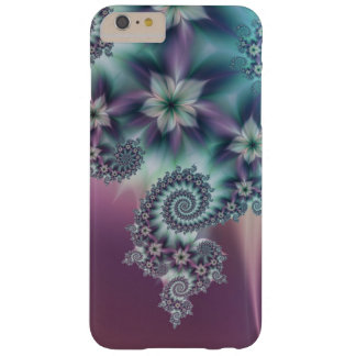 Fractal espiral floral funda barely there iPhone 6 plus