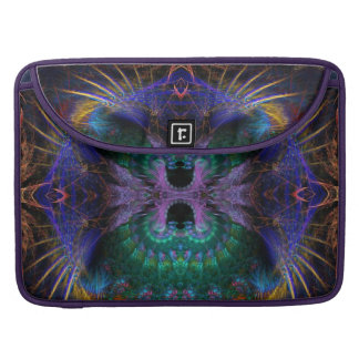 Fractal Exotic Feathers Macbook Pro Laptop Sleeve Sleeves For MacBook Pro