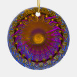 Fractal exótico ornamento para arbol de navidad