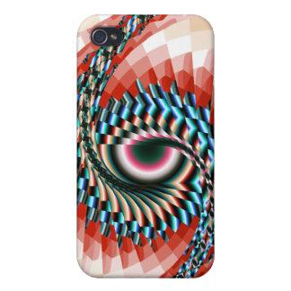 Fractal Eye iPhone 4 Cases