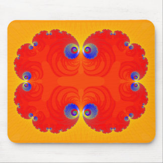 Fractal Eyes: Abstract Art: Mouse Pad