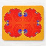 Fractal Eyes: Abstract Art: Mousepads