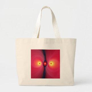 Fractal Eyes Canvas Bags
