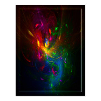 fractal faery by T'sarvek Postcard