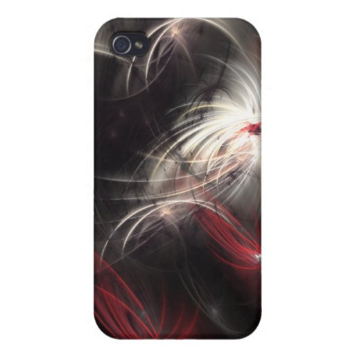 Fractal familiar iPhone 4 protector