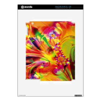 Fractal Fantasy 15 Gifts Decals For iPad 2