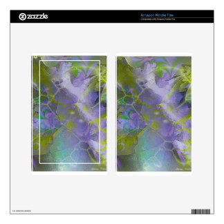 Fractal Fantasy 1 Gifts Kindle Fire Decals