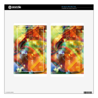 Fractal Fantasy 22 Gifts Kindle Fire Decal