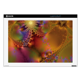 Fractal Fantasy 25 Gifts Laptop Skin