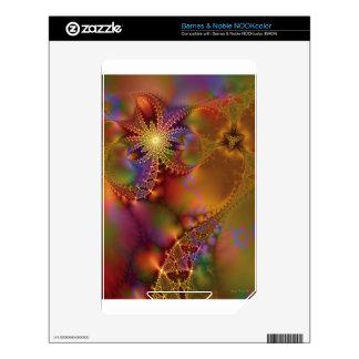 Fractal Fantasy 25 Gifts NOOK Color Skin