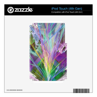 Fractal Fantasy 3 Gifts iPod Touch 4G Skins