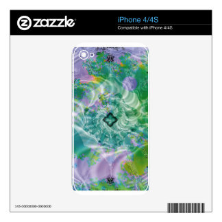 Fractal Fantasy 9 Gifts Decal For iPhone 4S