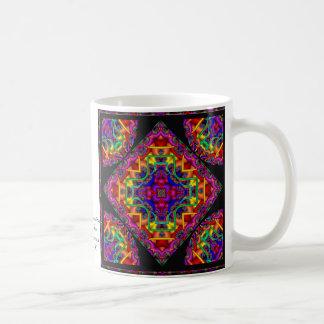 Fractal Fascination Kaleidoscope Coffee Mug
