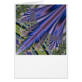 Fractal Feather Card