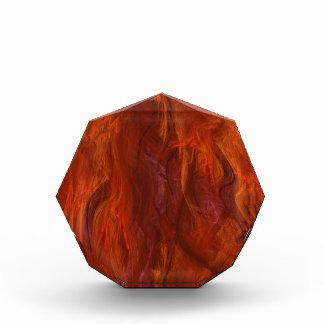 fractal-fire acrylic award