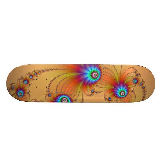 Fractal Fireworks Skateboard