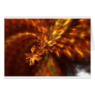 Fractal Flame Art Card