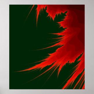 Fractal Flame Poster