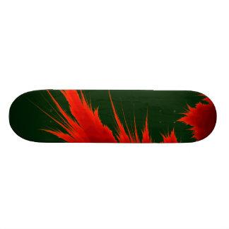 Fractal Flame Skateboard Deck