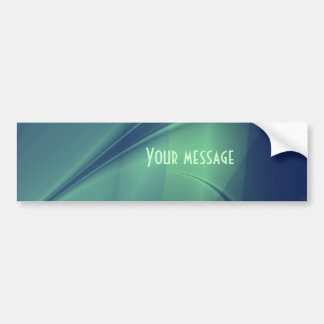 Fractal Flash of Thought Bumper Sticker