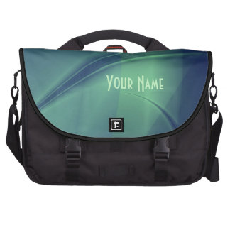 "Fractal ""Flash of Thought"" Commuter Laptop Bag"
