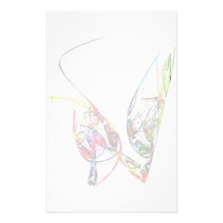 Fractal - Floating Butterfly Stationery