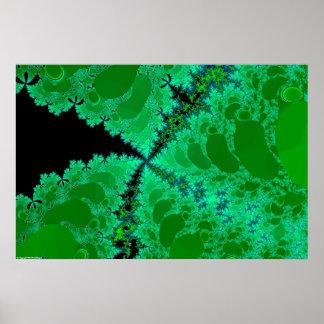 Fractal Flora Poster