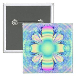 Fractal flower buttons