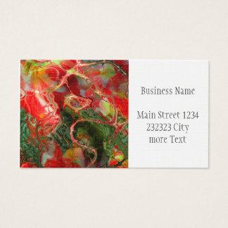 fractal flower Fantasy Business Card