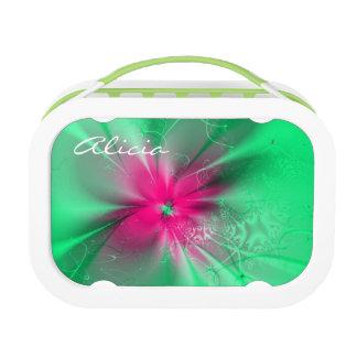 Fractal flower lunch box