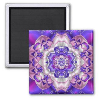 Fractal-flower Magnet
