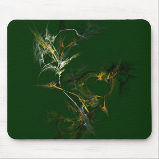 Fractal Flower Mouse Pad
