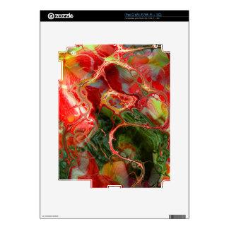 fractal flower (SF) iPad 2 Decal