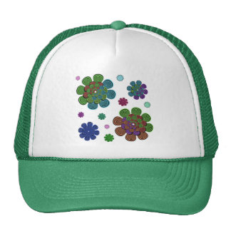 Fractal Flower Two Trucker Hat