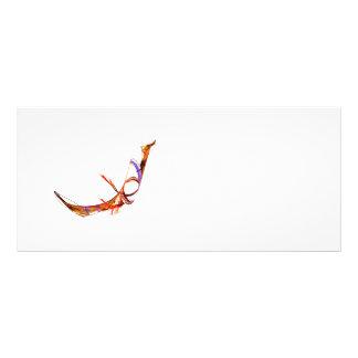 Fractal - Flying Swan Rack Card