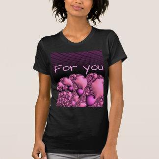"fractal ""for you"" soft tshirts"