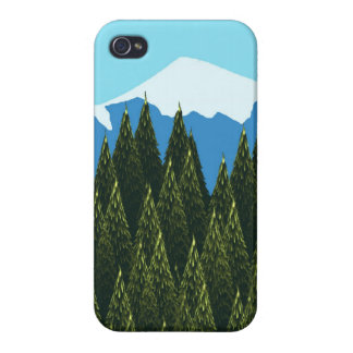 Fractal Forest Case For iPhone 4
