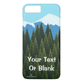 Fractal Forest iPhone 8 Plus/7 Plus Case