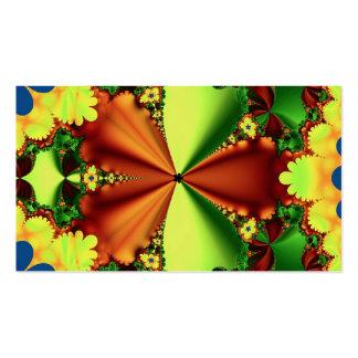 fractal frecuencia intermedia 101 tarjetas de visita