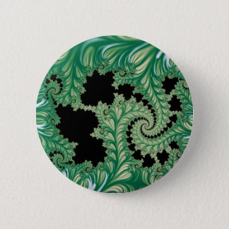 Fractal Fronds Button