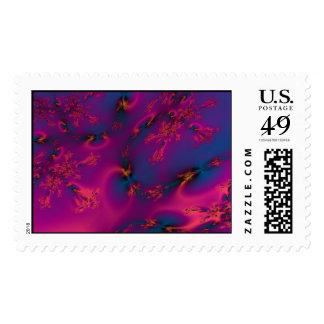 Fractal fun30 postage stamps