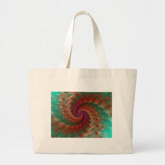 Fractal fun52 large tote bag