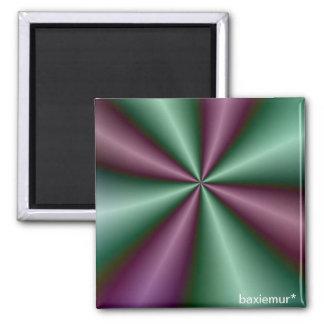 Fractal Fun 8 2 Inch Square Magnet