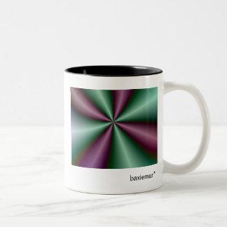 Fractal Fun 8 Two-Tone Coffee Mug