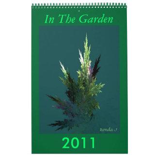 Fractal Garden Calendar