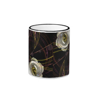 Fractal Gardenia Mug