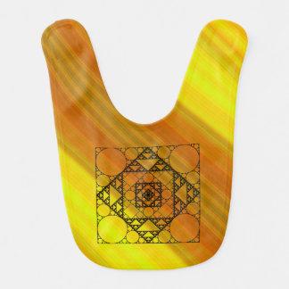 Fractal Geometry Baby Bib