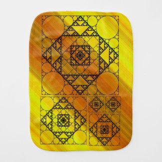 Fractal Geometry Burp Cloth