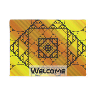 Fractal Geometry Doormat