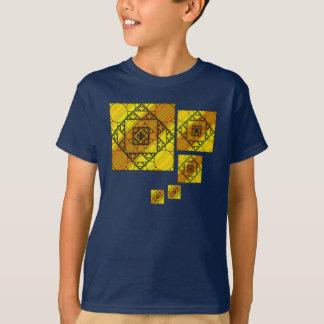 Fractal Geometry Kid's and Baby Dark Shirt
